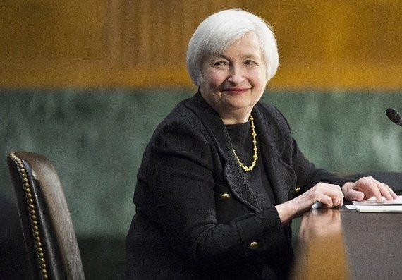 Fed's Yellen says global risks could pose U.S. growth threat