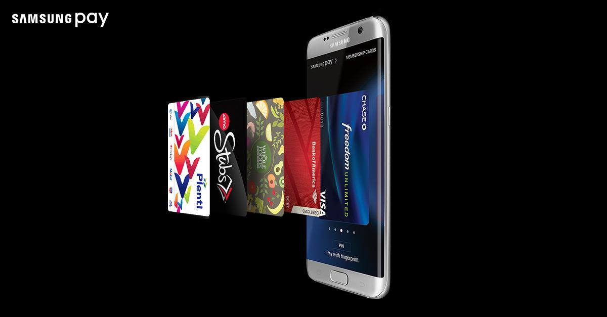 More of your wallet is now on Samsung Pay