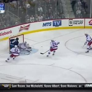 Henrik Lundqvist Save on Jacob Trouba (03:43/1st)