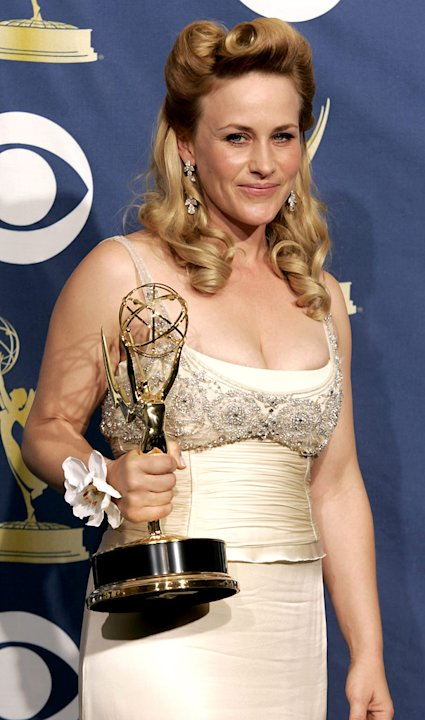 Patricia Arquette, winner of Outstanding Lead Actress in a Drama Series for &quot;Medium&quot; at The 57th Annual Primetime Emmy Awards. 