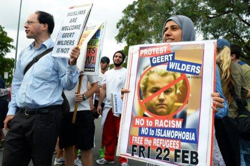 Protests ruined Islamophobe tour