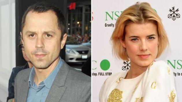 Giovanni Ribisi and Agyness Deyn  -- Getty Images
