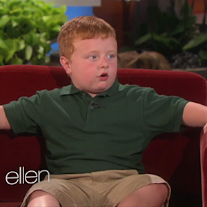 'Apparently Kid' Returns to 'Ellen'