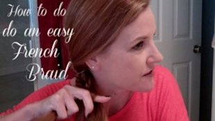 How to do a fishtail French braid