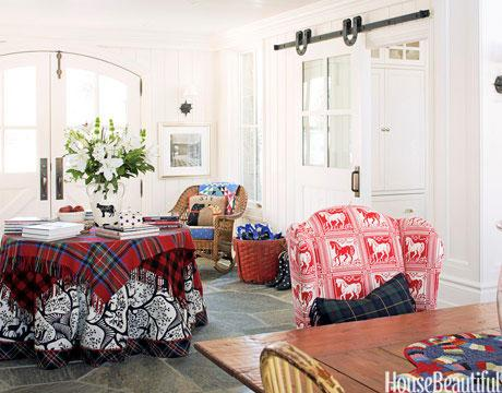 Try a Cozy Tablecloth