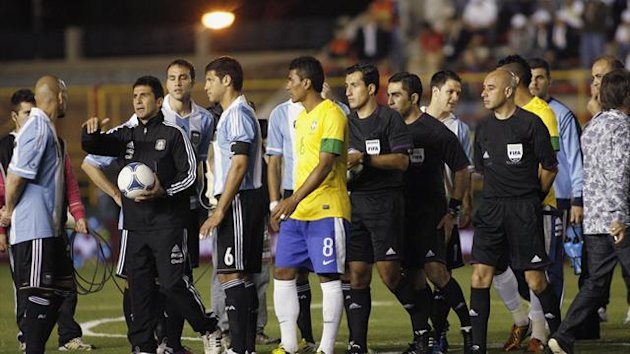Argentina's superclasico friendly with Brazil is called off