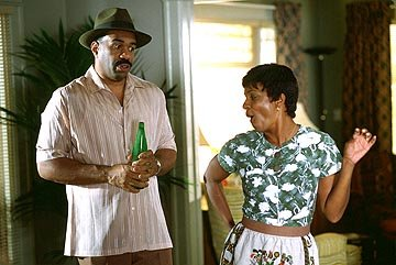 Steve Harvey and Vanessa Bell Calloway in Warner Bros. Love Don't Cost a Thing