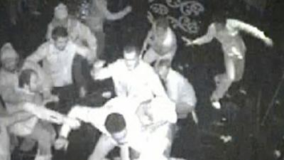 Raw: Bucks' Sanders Ticketed in Nightclub Fight