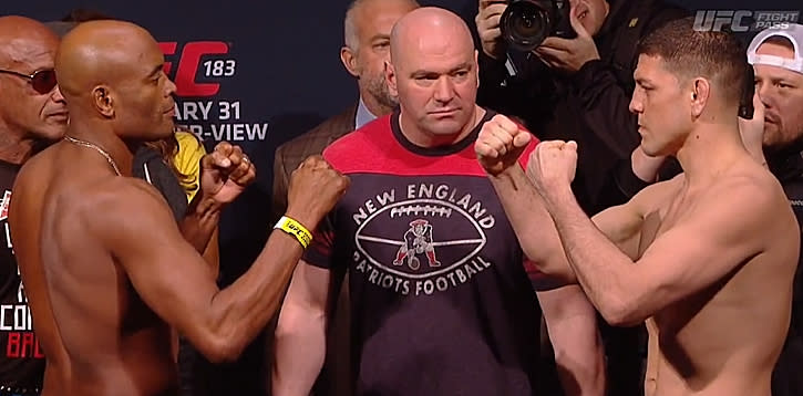 UFC 183 Weigh-in Results: Silva vs. Diaz Set; Gastelum Puts Co-Main Event in Jeopardy