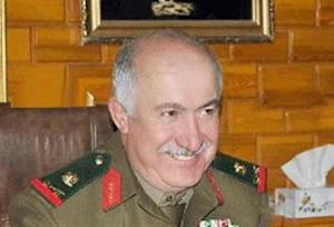 An undated handout photograph distributed by Syria's national news agency SANA shows top-ranking general in Syrian military intelligence, General Jama'a Jama'a who was killed in Deir al-Zor city in northeastern Syria