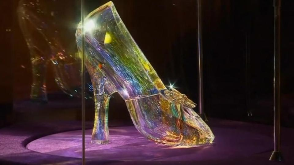 Disney unveils major Cinderella costume exhibition