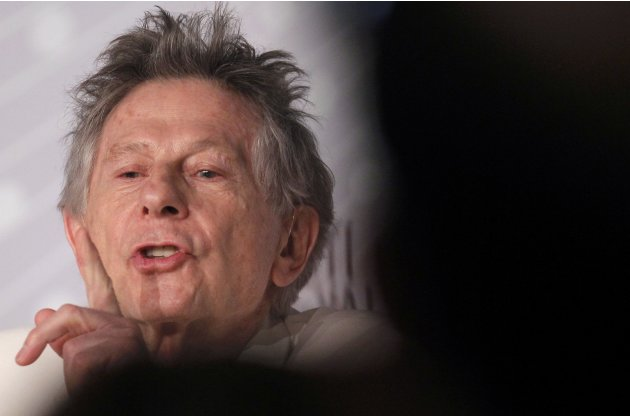 "Director Roman Polanski attends a news conference for the film ""La Venus a la Fourrure"" during the 66th Cannes Film Festival"