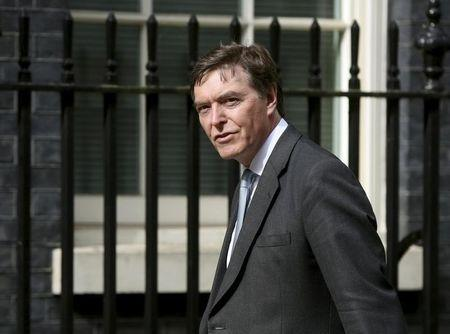 Philip Dunne arrives at 10 Downing Street as Britain's re-elected Prime Minister David Cameron names his new cabinet in London