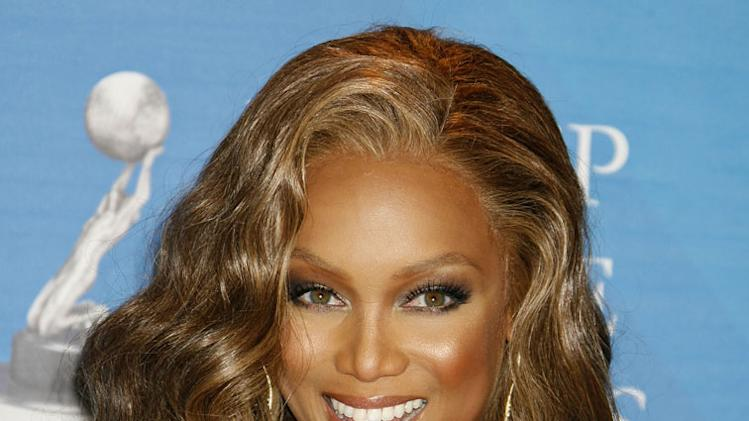 No. 4 is the fierce Tyra Banks. Besides hosting her own talk show, the former runway diva is gearing up for the latest cycle of America's Next Top Model.
