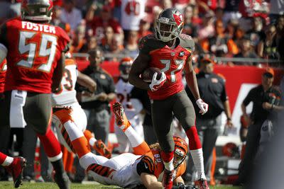The arrow's pointing up for Buccaneers CB Johnthan Banks