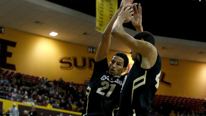 NCAA Basketball: Colorado at Arizona State