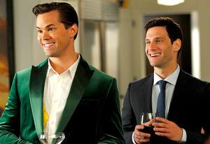 Andrew Rannells and Justin Bartha | Photo Credits: Trae Patton/NBC