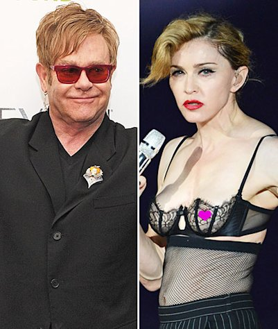 "Elton John Calls Madonna a ""Fairground Stripper,"" Says ""Her Career is Over"""