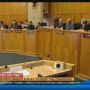 City Council makes a play to keep the Chargers
