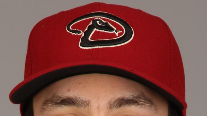 A.J. Pollock Baseball Headshot Photo