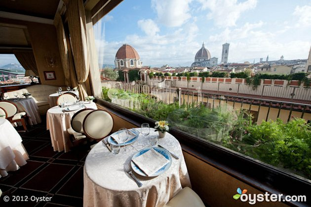 Terrazza Brunelleschi Restaurant at the Grand Hotel Baglioni