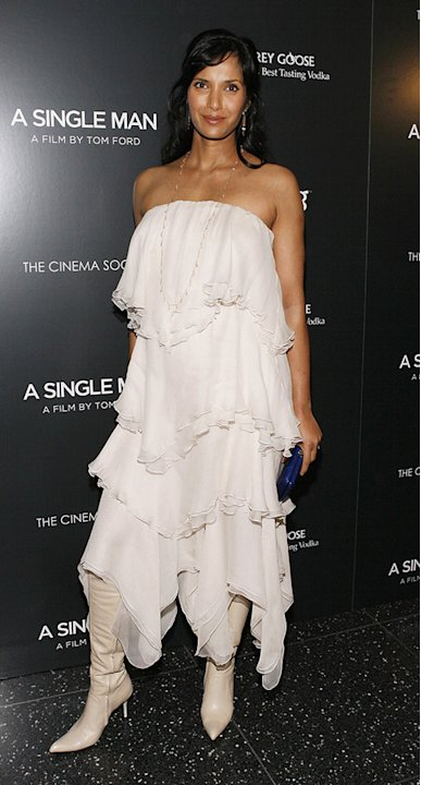 A Single Man NY Screening 2009 Padma Lakshmi