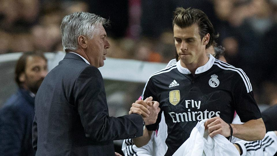 Ancelotti takes aim at Bale