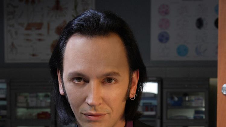 Steve Valentine stars as Dr. Nigel Townsend in Crossing Jordan on NBC.