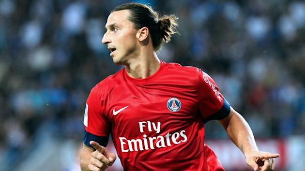 FOOTBALL 2012 PSG Paris SG Zlatan Ibrahimovic