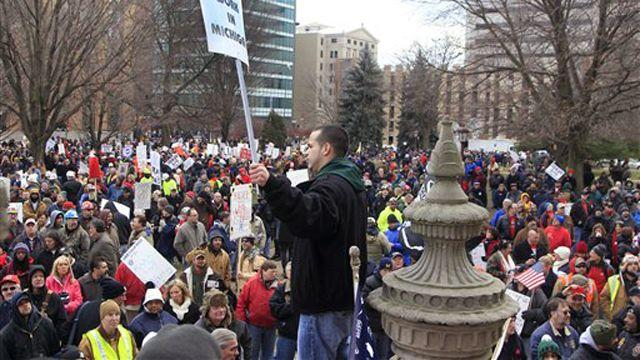 AFL-CIO: Right-to-work not right for Michigan