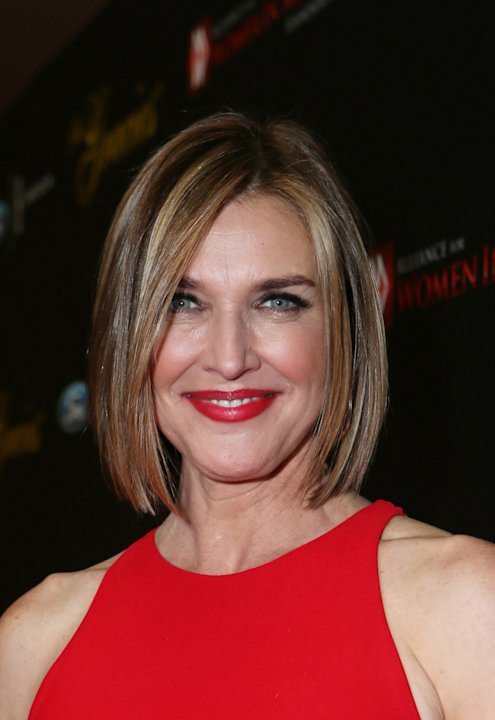 Brenda Strong arrives at Sexy Hair Celebrates The Gracies Presented By The Alliance For Women In Media Foundation, on Tuesday, May, 21, 2013 in Beverly Hills, Calif. (Photo by Alexandra Wyman/Invision