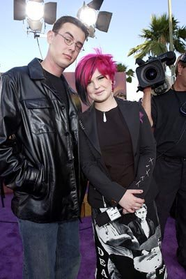 Colin Hanks and Kelly Osbourne MTV Movie Awards 6/1/2002