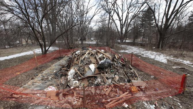 Home demolitions turn Detroit into blank canvas
