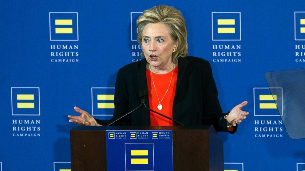 Hillary Clinton Mocks Ben Carson, Ted Cruz on Gay Rights