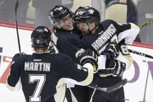 Late goals help Penguins escape Oilers 6-4