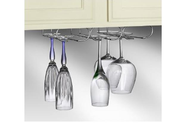 Under-Cabinet Stemware Holder