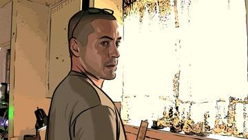 Robert Downey Jr. in Warner Independent Pictures' A Scanner Darkly