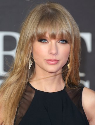 Heart-Shaped Face: Texturized Bangs