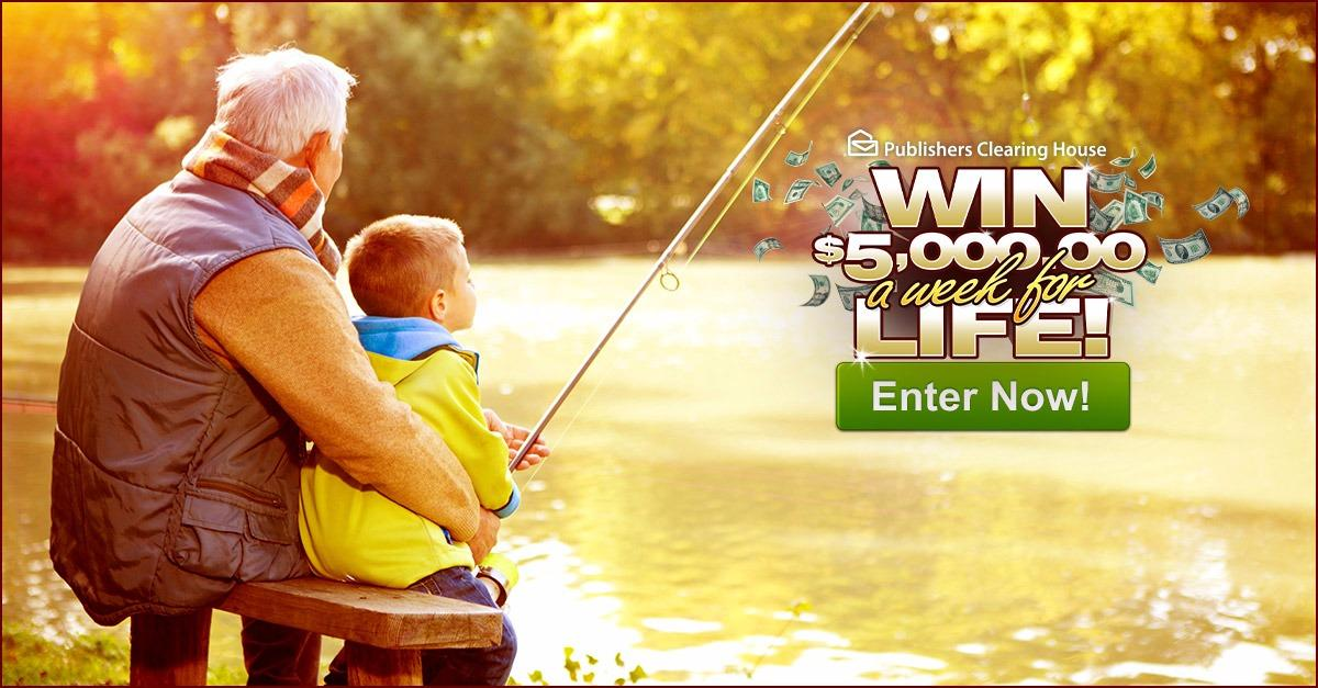 Win $5K A Week For Life