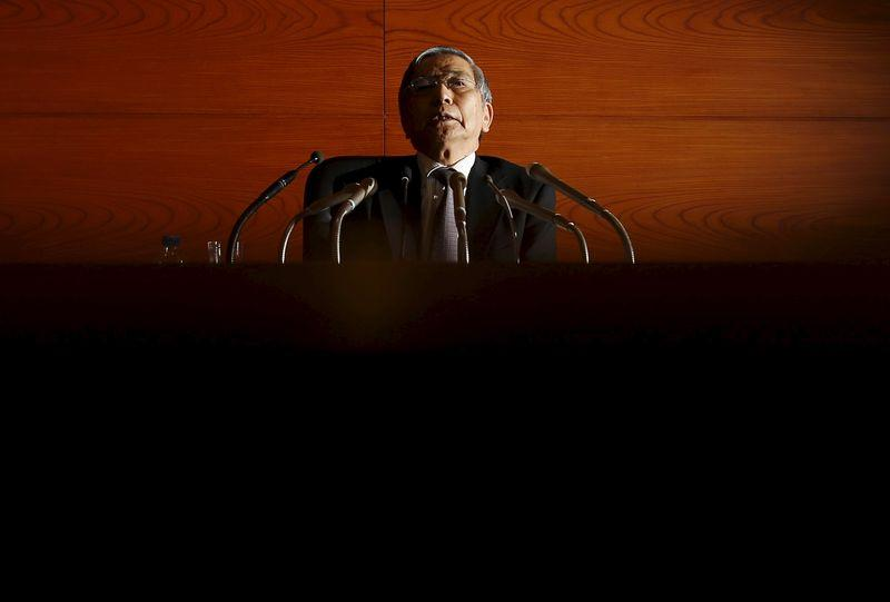 BOJ's Kuroda dismisses calls to go slow in hitting inflation target