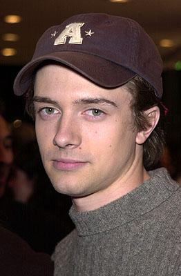 Premiere: Topher Grace at the Westwood premiere of Dimension's Get Over It - 3/8/2001