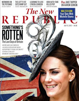 Portada Kate Middleton The New Republic