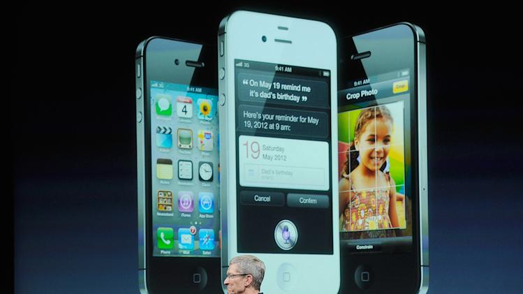 New Apple CEO Tim Cook Introduces iPhone 4s