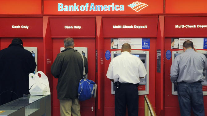 US bank earnings decline 7.7 percent in 1Q