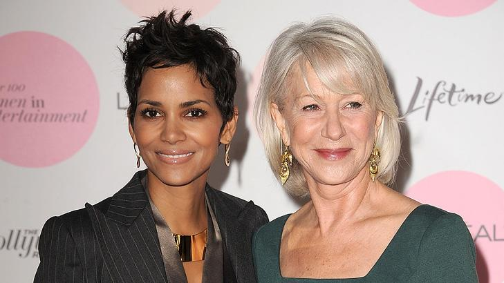 Hollywood Reporters Women in Entertainment Breakfast 2010 Halle Berry Helen Mirren