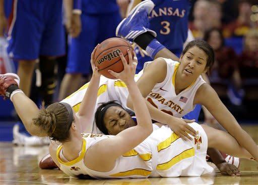 Iowa State defeats Kansas 77-62