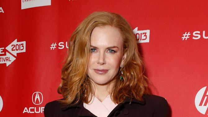 """Actress Nicole Kidman attends Fox Searchlight's """"The Stoker"""" premiere during Sundance Film Festival on Sunday, Jan. 20, 2012 in Park City, Utah. (Photo by Todd Williamson /Invision for Fox Searchlight/AP Images)"""