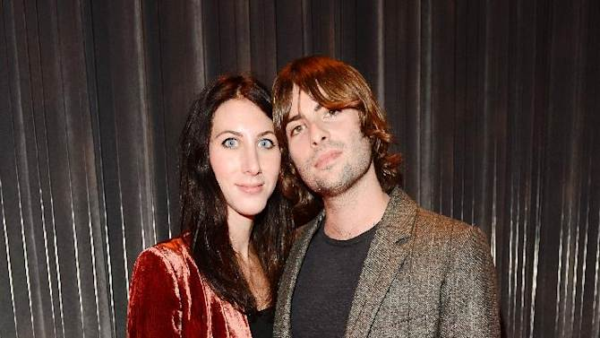 Actor Robert Schwartzman and Zoey Grossman seen at The Premiere of Intel & W Hotels' Four Stories on Tuesday, Nov. 27, 2012, W Hotel, London. (Photo by Jon Furniss/Invision for Intel/AP Images)