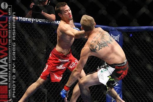 After Getting Knocked Out of TUF 15, James Krause's UFC Cinderella Story Begins Anew