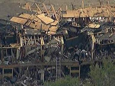 Search Is On for Texas Explosion Survivors